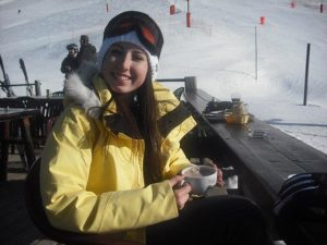 Catrin Pugh before her accident